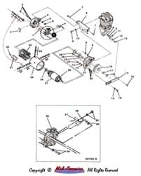 Picture of Starter/Generator bracket assembly