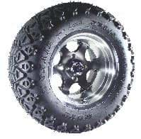Picture of Xtrail tyre mounted 12""
