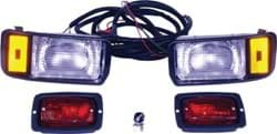 Picture of Headlight & taillight kit with chrome bezels