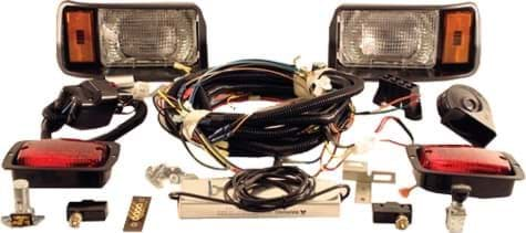 Picture of Deluxe light kit with chrome bezels