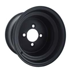 Picture of Offset steel wheel, black. 10""