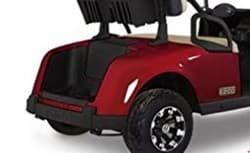 Picture of Rear body, inferno red metallic