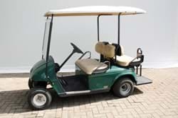 Picture of Used - 2007 - Electric - E-Z-GO Shuttle 2+2 with lights  - Green