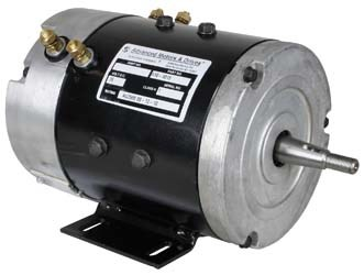 Picture of Motor, AMD (Series), 36-volt (2.5-hp@2700 rpm).