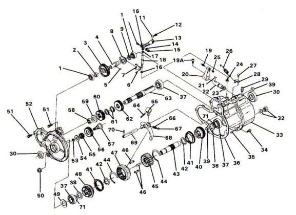 Picture of Gear assembly, 36 tooth