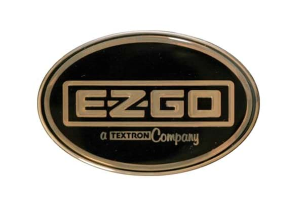 Picture of Factory name plate, black and gold