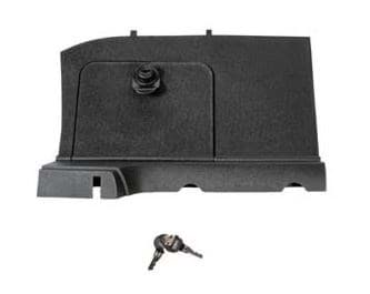Picture of Locking glove box, driver side