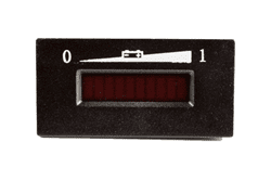 Picture of 36-volt horizontal state of charge meter with LED gauge
