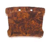 Picture of Scorecard holder, Regal Burl. Does not include scorecard clip. For Club Car G&E 1981-up DS cars