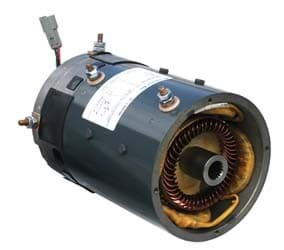 Picture of GE motor, High speed, regen 48-volt (4.3hp@3500rpm)