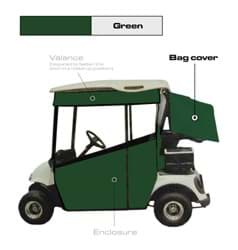 Picture of Bag/club cover vinyl, Forest green