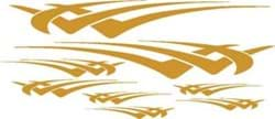 Picture of Gold HAWK graphics