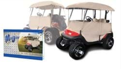 "Picture of Universal Enclosure For Carts With 54"" Top (2 Seater)"