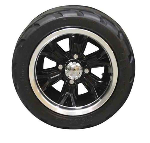 "Picture of 12"" ASSY,OPT BLK WHL,DURO TYRE"