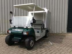 Picture of Used - 2013 - Electric - Club Car Carryall 2 - Closed cargo box - Green