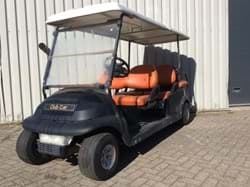 Picture of Used - 2007 - Electric - Club Car Precedent 6 seater, with lights - Black