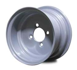Picture of WHEEL 10X6 4 BOLT(SILVER)*