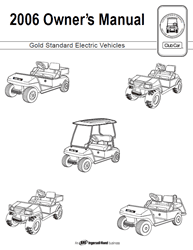 Picture of 2006 - Club Car - Gold Standard Vehicles - OM - all elec/Utility