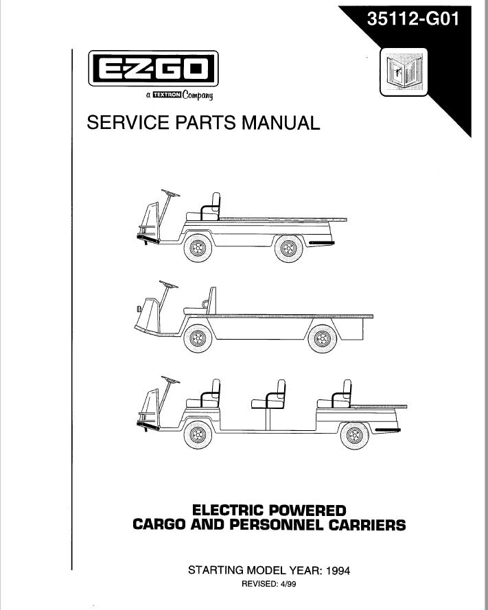 1994  U2013 E-z-go  U2013 Sm - Gas  U0026 Electric