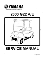 Picture of Copy of 2003 - Yamaha-G22 A/E - SM - GAS test
