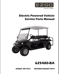Picture of 2012 - E-Z-GO - EXPRESS S6 - SM - All elec/utility