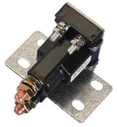 Picture of Solenoid - 14-volt, 4 terminal, #120 series with silver contacts