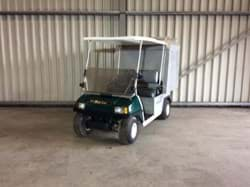 Picture of Used - 2007 - Electric - Club Car Carryal 1 with closed cargo box - Green