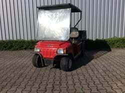 Picture of ! Budget cart ! Used - 2008 - Electric - Club Car Carryall 232 - Red