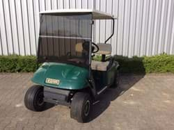 Picture of ! Budget Cart ! - Used - 2002 - Gasoline - EZGO TXT  - Green