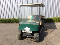 Picture of Used - 2008 - Electric - EZGO Shuttle 4 with cargo box - Green