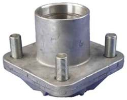 Picture of Front hub with bearing races