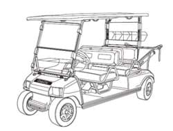 Picture of 2000-2002 - Club Car - Limo - G&E (102067404)