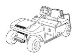 Picture of 2008 - Club Car - DS Villager 4 - G&E (103373004)