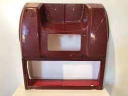 Picture of Used | Body, Burgundy, rear  | 8 days warranty