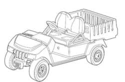 Picture of 2007 - Club Car - XRT800/850 LE - G&E (103209033+)