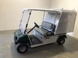 Picture of Used - 2014 - Electric - Club Car Carryal 2 With Closed Cargo Box - Green