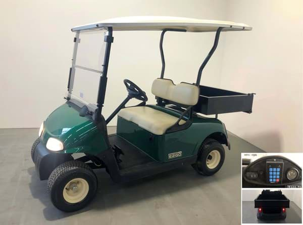 Picture of E-Z-GO RXV 48V Elektrisch - 2015 - Refurbished - with cargo box