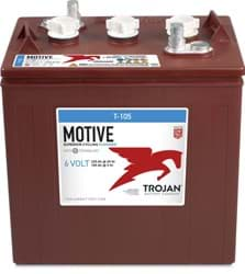 Picture of Trojan T105 - 6 Volt Deep Cycle Battery