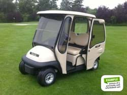 Picture of Refurbished 2-seaters with Curtis cab | Club Car, E-Z-GO, Yamaha | From € 7.599,- (ex. VAT)
