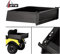 Picture of GTW Black Steel Cargo Box Only