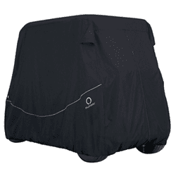 Picture of Black Heavy Duty 2-Passenger Storage Cover Short Top Up To 60""