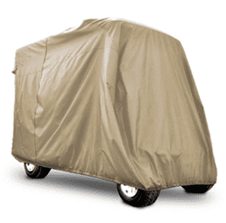 "Picture of Stoage cover 4 passenger tan with 80"" top"
