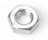 "Picture of Hex jam nut, (¼""-28) for accelerator rods #4839, #4867 (20/Pkg)"